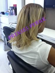 Prenses Peruk - 150 Adet Doğal Saç Boncuk Kaynak 60cm