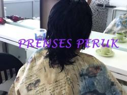 Prenses Peruk - 200 Adet Gerçek Saç Keratin Kaynak Uygulamasi