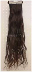 Prenses Peruk - 5 Adet Gerçek Saç Dalgalı Çıt Çıt Takımı