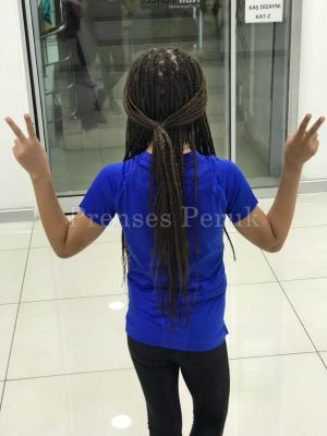 Afro Örgüsü Kaynak Saç