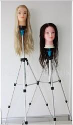 Prenses Peruk - Ayaklı Kuaför Eğitim Mankeni Standı(Manken Fiyata dahil değildir)