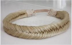 Prenses Peruk - Balik Sirti Örgü Saç Bandi Taç
