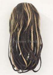 Prenses Peruk - Balyajlı Örgülü Saç Sentetik Postiş