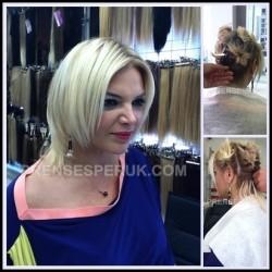Prenses Peruk - Boncuk Kaynak Saç ile Saçınıza Hacim Kazandırın