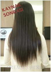 Prenses Peruk - Mikro Boncuk Saç Kaynak Uygulaması 165 Adet