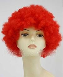 Prenses Peruk - Bonus Peruk Kırmızı Renk
