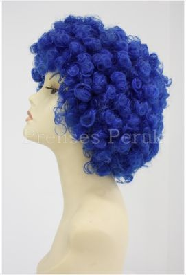 Bonus Peruk Mavi Renk