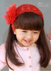Prenses Peruk - Çocuk Perukları Doğal Renk Ve Model