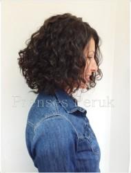Doğal Saç Dalgalı Medikal Peruk - Thumbnail