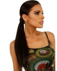Prenses Peruk - Doğal Saç Kıvrımlı Uzun Postiş