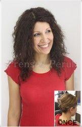 Doğal Saç Medikal Peruk Kıvırcık Dalgalı
