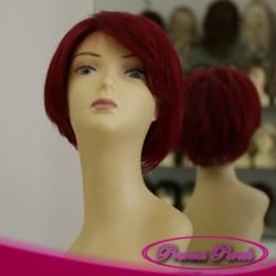 Prenses Peruk - Doğal Saç Peruk Ateş Kızılı