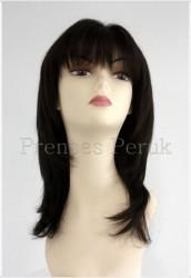 Prenses Peruk - Doğal Saç Peruk Boyasız Cilt Ayrımlı
