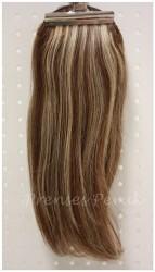 Prenses Peruk - Doğal Saç Postiş Yuvarlak Kalıp 50 cm