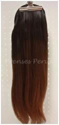 Prenses Peruk - Doğal Saç Postiş Yuvarlak Kalıp 60 cm