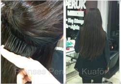 Prenses Peruk - Doğal Saç İtalyan Keratin Kaynak UYgulaması