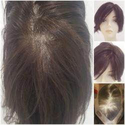 Prenses Peruk - Doğal Saç Tepelik Protez Saç