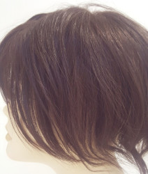 Doğal Saç Tepelik Protez Saç - Thumbnail