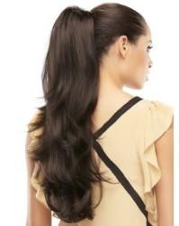 Prenses Peruk - Doğal Saç Tokali Uzun Boy Postiş