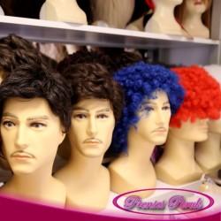 Prenses Peruk - Doğal Sentetik Saç Erkek Perukları