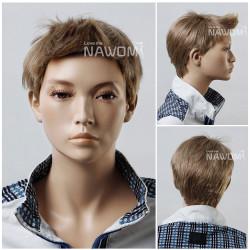 Prenses Peruk - Erkek Peruk Çocuk Modelleri Acık Renk
