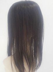 Gerçek Saç Medikal Tepelik Uzun Boy Doğal Görünüm - Thumbnail