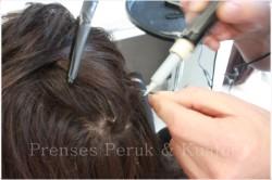 Görünmeyen Doğal Saç Mikro Kaynak 65 cm (VİDEOLU) - Thumbnail