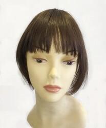 Prenses Peruk - Gerçek Saç Kahkül Saç Klipsli