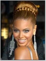 Prenses Peruk - Kalın Örgü Saç Bandı Topuz Etrafına Karamel Renk
