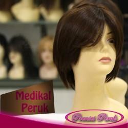 MP Medikal Peruk - Kısa Boy Doğal Boyasız 1.Kalite Medikal Peruk