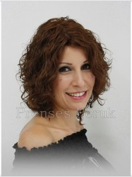 Kıvırcık Doğal Saç Medikal Peruk Modelleri - Thumbnail