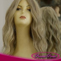 Prenses Peruk - Küllü Platin Gerçek Uzun Saç Peruk