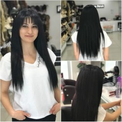 Prenses Peruk - Mikro Saç Kaynak 1. Sınıf Saç En Kaliteli Kaynak