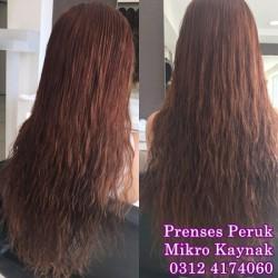 Prenses Peruk - Mikro Saç Kaynak En Kaliteli Kaynak 1. Sınıf Saç