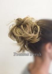 Pratik Lastikli Topuz Saçlar - Thumbnail