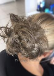 Saçlı Lastik Toka ile Şık Bir Topuz - Thumbnail