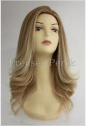 Prenses Peruk - Sarı Ombre Uzun Doğal Peruk