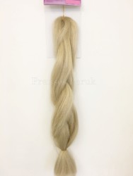 Prenses Peruk - Sarı Renk Afro Örgüsü Kaynak Saç