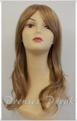 Prenses Peruk - Sentetik Peruk Fön Maşa Yapılan Katlı Model