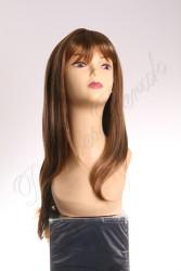Prenses Peruk - Sentetik Peruk Uzun Boy Düz Kahküllü