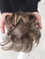 Prenses Peruk - Sentetik Postiş ile Kolay Topuz Saç Yapımı