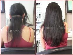 Prenses Peruk - Silikonlu Boncuk Kaynak Saç 60 cm