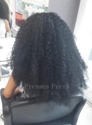 Siyah Zenci Örgüsü Afro Kaynak - Thumbnail