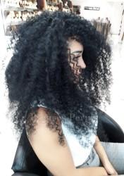 Prenses Peruk - Siyah Zenci Örgüsü Afro Kaynak