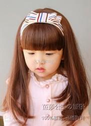 Prenses Peruk - Uzun Sentetik Kız Çocuk Peruk