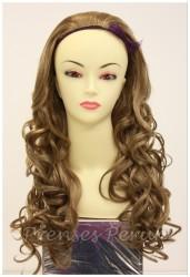 Prenses Peruk - Yarım Sentetik Peruk Dalgalı Model